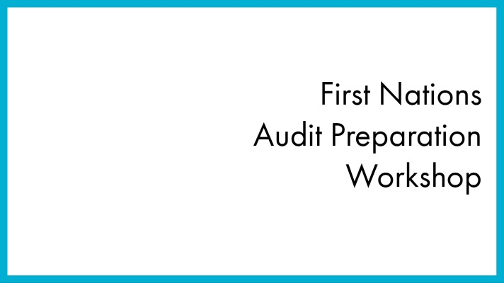 Audit Preparation Workshops
