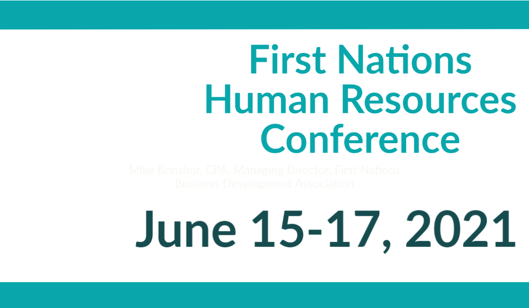 First Nations Human Resources Conference